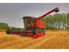 Case IH provides hands-on training opportunity on Axial-Flow® 4088 HD combine in China