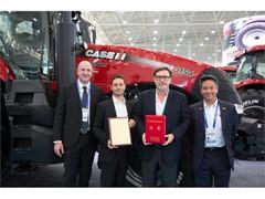 凯斯 Magnum™ 3154 拖拉机荣获2017中国国际农业机械展览会 产品创新奖