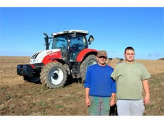 STEYR Makes a Special Effort for Unlucky Czech Farmer