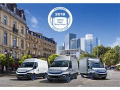 Чемпион в области устойчивого развития: IVECO Daily Blue Power получил титул «Международный фургон года 2018»