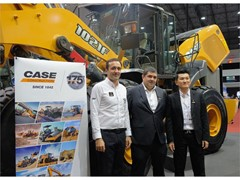 CASE Construction Equipment shines in Diamond role at INTERMAT ASEAN 2017