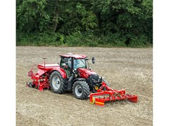 New record-breaking Maxxum and cost-effective Puma X tractors plus upgraded round balers on Case IH stand at FTMTA Grass & Muck.