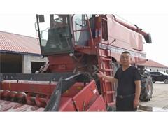 久负盛名的凯斯 Axial-Flow® 联合收割机广受中国用户好评
