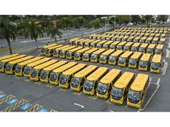 IVECO BUS delivers 900 buses to the Minas Gerais Government, Brazil