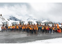 STEYR Municipal tractors, technology at the highest level on the Grossglockner.