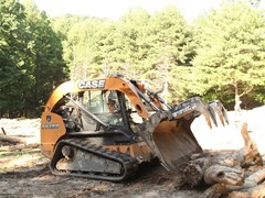 CASE, Hills Machinery Support Team Rubicon Mudslide Cleanup in North Carolina