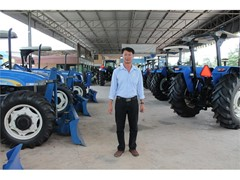 Thailand's New Holland dealer learned first-hand why it is important to make farming easier and more productive