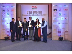 CASE India wins CIA World Construction & Infra Awards in four categories