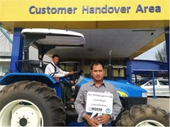 New Holland Agriculture helps Myanmar farmers fight malaria