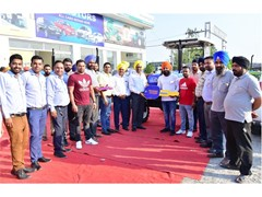 New Holland Agriculture hosts a Mega Customer Meet at the new showroom of M/s Kaler Agrotech, Amritsar