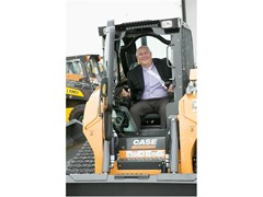 CNH Industrial hosts U.S. Congressman Ron Estes at the CASE and New Holland Construction Equipment plant in Wichita
