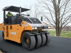 CASE Announces PT240D Pneumatic Tire Roller for Asphalt Paving Industry