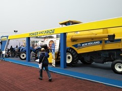 New Holland Agriculture products reign supreme at Krushi Odisha 2020