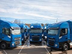 Компания IVECO осуществила поставку 50-ти грузовиков IVECO Stralis NP 460 на сжиженном природном газе российскому перевозчику «Автомобильная компания — Мостранс»