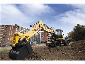 New Holland Construction launches new generation wheeled excavator range