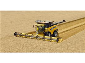 New Holland Agriculture CR10.90 combine harvester