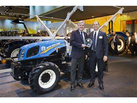New Holland Agriculture Brand President Carlo Lambro (left) and New Holland Agriculture Business Director for Italy Marc