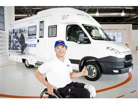 Paralympic Athlete Vittorio Podestà Heads to 2012 London Paralympics Games with Iveco Camper