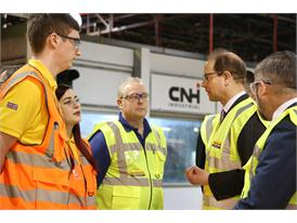CNH Industrial manufacturing facility welcomes Royal Visit from HRH The Earl of Wessex KG GCVO