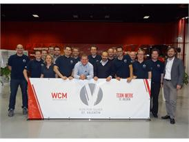 CNH Industrial Austrian plant achieves region's first world class