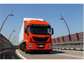 Israel's first ever natural gas powered vehicle is an Iveco Stralis