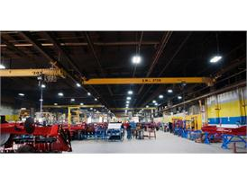 CNH Industrials production facility in Saskatoon, Saskatchewan, Canada