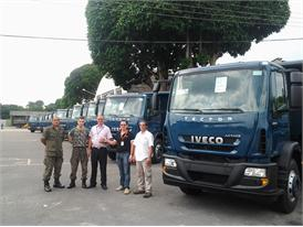 CNH Industrial brand Iveco supplies 10 Tector Attack vehicles to Brazil's Air Force