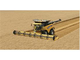 CNH Industrial brand launches the world's most powerful combine harvester