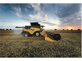 New Holland Agriculture CR10.90 Combine, the World's most powerful combine harvester