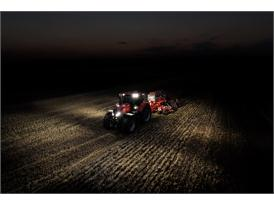 Case IH Optum 300 CVX with Seeder
