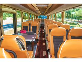 Interior of the Iveco Bus Magelys