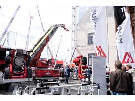 Magirus stand at Interschutz 2015
