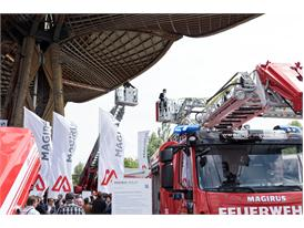 Opening of the Magirus stand at Interschutz 2015