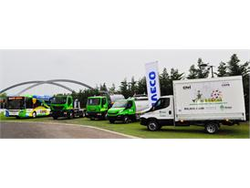 Iveco and Iveco Bus vehicles for Expo 2015
