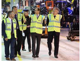 HRH The Earl of Wessex Royal Visit CNH Industrial Basildon