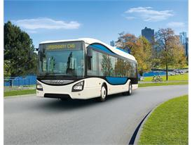Iveco Buses similar to those used at Expo Milan 2015