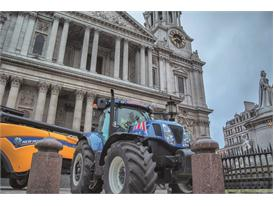 New Holland machines at City display that raised thousands  for farming hardship fund
