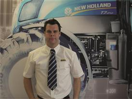 Liam Hayde, New Holland's new area sales manager for the Republic of Ireland