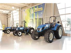 Product display inside the New Holland Customer Centre at the Jesi Plant