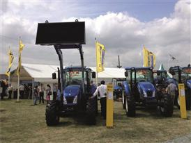 New Holland Agriculture's stand at the Royal Welsh Show