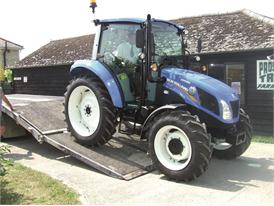New Holland delivers blue Tilly Tractor to unique charitable farm