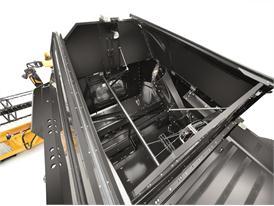New Holland CX8090 Elevation Combine Grain Tank