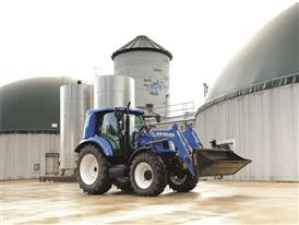 New Holland T6.140 Methane Power Tractor