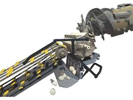 New Holland Dynamic Feed Roll™ technology is an option for the powerful twin-rotor combine harvesters CR8000 and CR9000