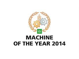 """""""Machine of the Year 2014"""" logo"""