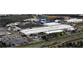 CNH Industrial facility in Curitiba Brazil