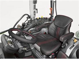 Steyr Kompakt Multicontroller 4115 Leather Seat Cabin