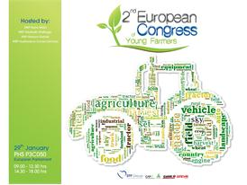 European Congress of Young Farmers Sponsored by Case IH and Steyr Logo