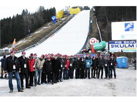 """Ski Flying World Cup 2014: Steyr """"clearance fleet"""" in action!"""
