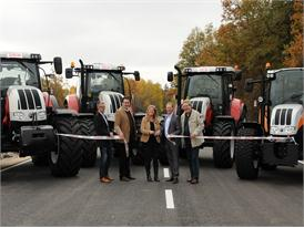 Steyr opens Red-Power-Road training track for tractor test driving, training and research